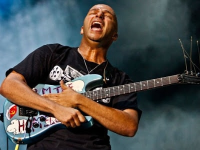 Tom Morello Playing Guitar