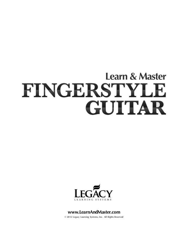 Learn & Master Guitar Advert